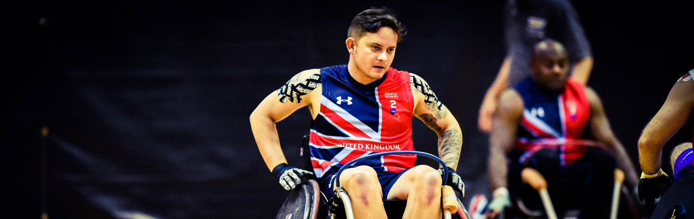 Stepping back into the light with the help of the Invictus Games