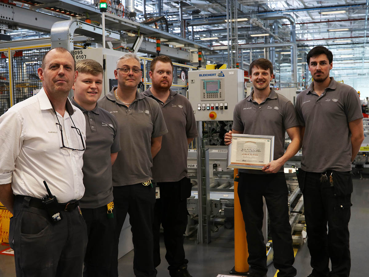 Machining Hall pips others at the post to win Kaizen of the Month