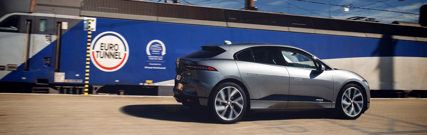 Jaguar I-PACE proves its range by travelling to Belgium on a single charge