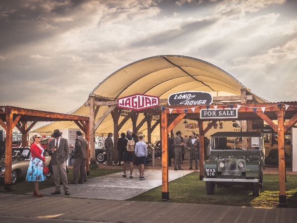 GOODWOOD REVIVAL: RECREATING THE GLAMOUR OF MOTOR RACING AS IT USED TO BE