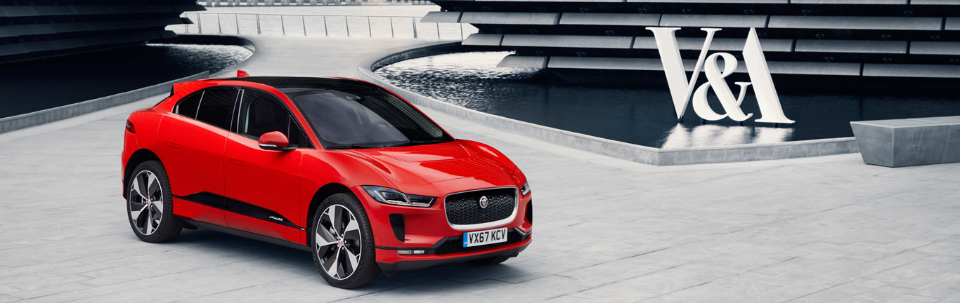 Ian Callum and the Jaguar I-PACE stars of the new V&A Museum in Scotland