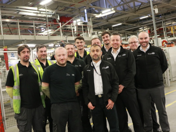 WORKING TOGETHER MAKES LIGHT WORK OF ROBOT SWAPS AT SOLIHULL