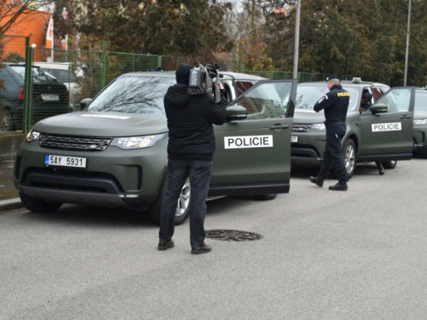 LAND ROVER ENTERS SERVICE WITH EUROPE'S POLICE