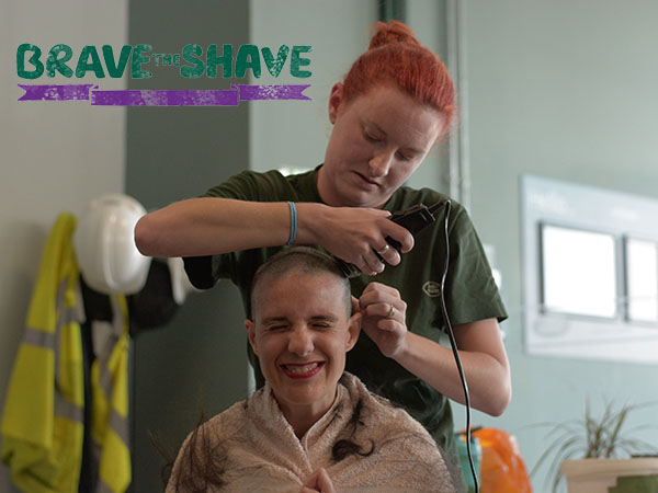 Braving The Shave - Michelle Bibb Raises Over £2,000 For Macmillan