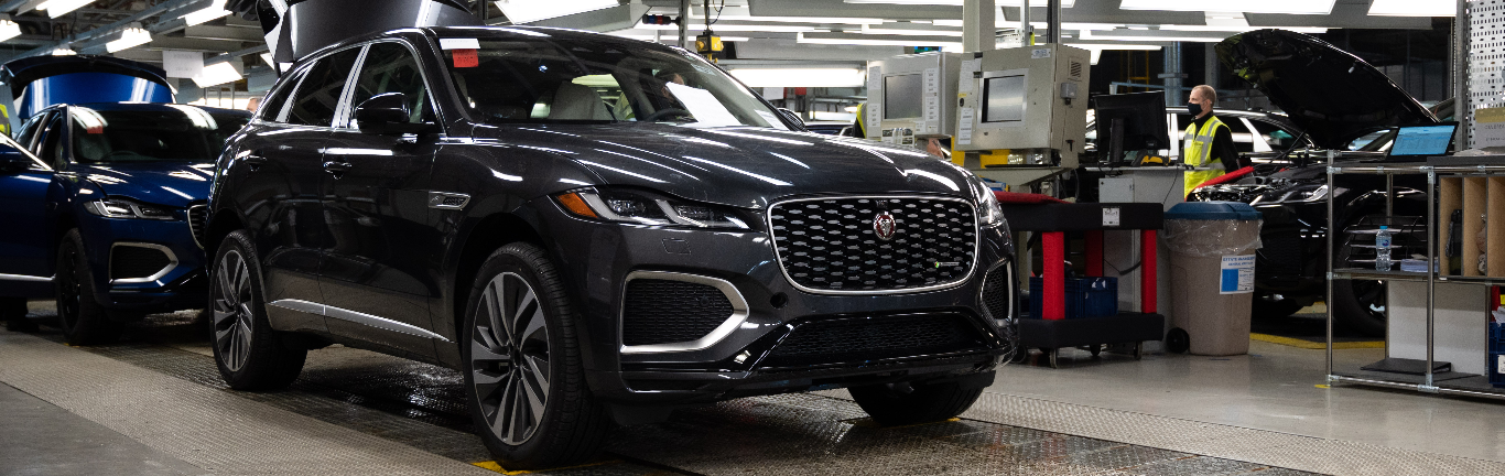MANUFACTURING-WIDE COLLABORATION AS CASTLE BROMWICH SUPPORTS F-PACE ACTIVITIES