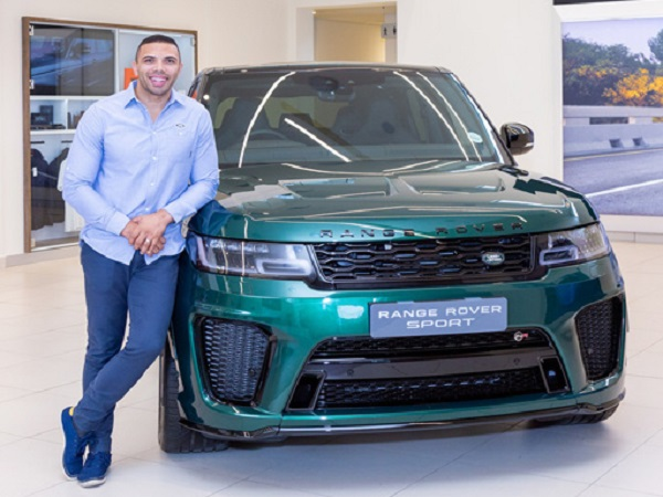 Springboks get their hands on a unique Range Rover Sport SVR
