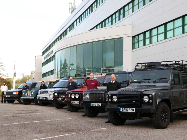 Halewood is celebrating World Land Rover Day in style