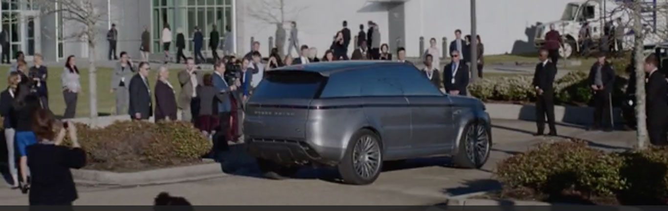 Futuristic Range Rover Sport is the star of new US drama series