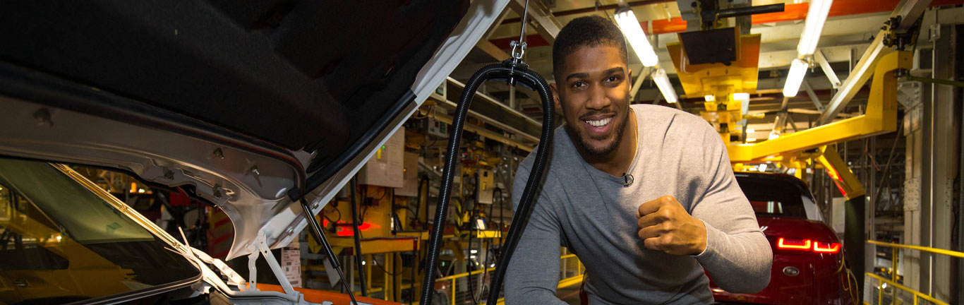 Anthony Joshua gets a sparring session he will never forget at Halewood