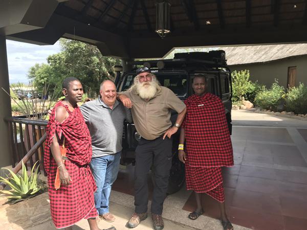 North American retailers help adventurer Kingsley Holgate improve lives in Africa
