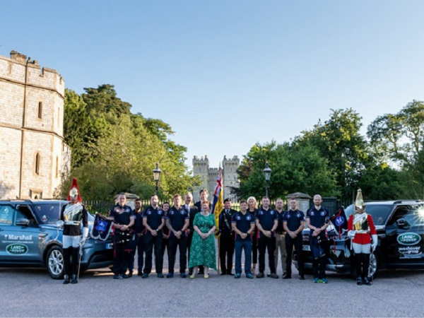 Land Rover supports 470 mile trek on behalf of the rehabilitation of injured soldiers