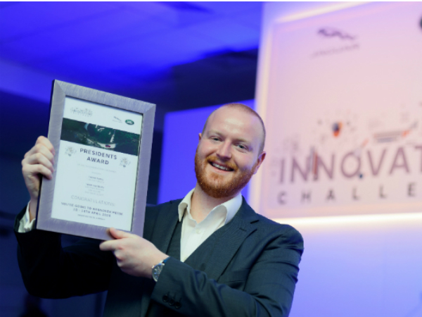 HALEWOOD TEAM 'BLOWS AWAY' COMPETITION AT INNOVATION CHALLENGE