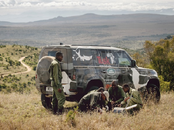 New Land Rover Defender shows its true ability supporting Tusk in Kenya