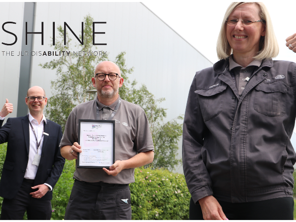 THE ENGINE MANUFACTURING CENTRE ARE RECOGNISED AS DISABILITY CONFIDENT LEADERS
