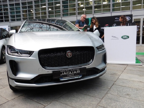 Jaguar Land Rover shares its expertise at electric mobility festival in Italy