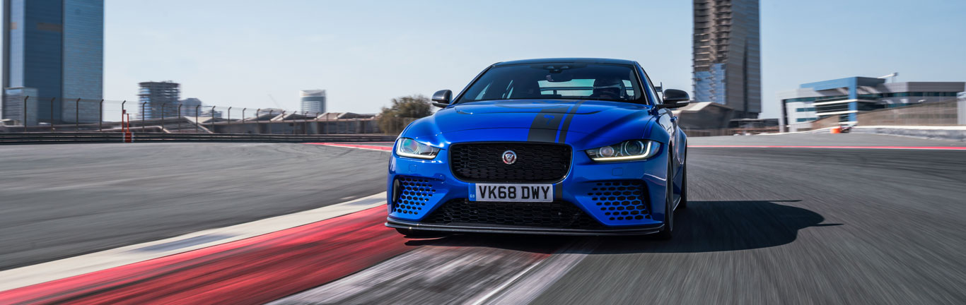 Jaguar XE SV Project 8 blasts its way to Dubai lap record