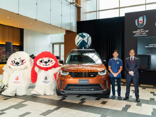 Land Rover gears up to support the Rugby World Cup in Japan