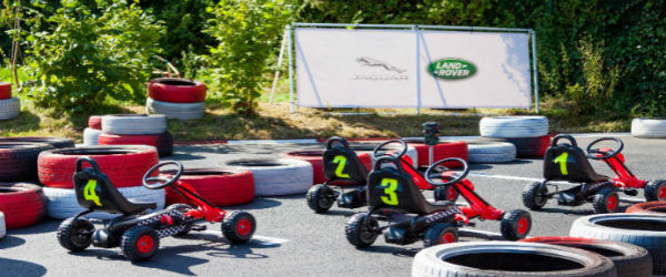 Holy Cross Go-kart track off to a great start!