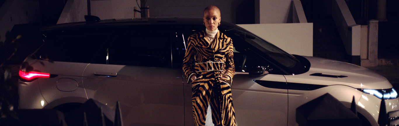 Adwoa Aboah and the new Evoque show what it means to 'Live for the City'