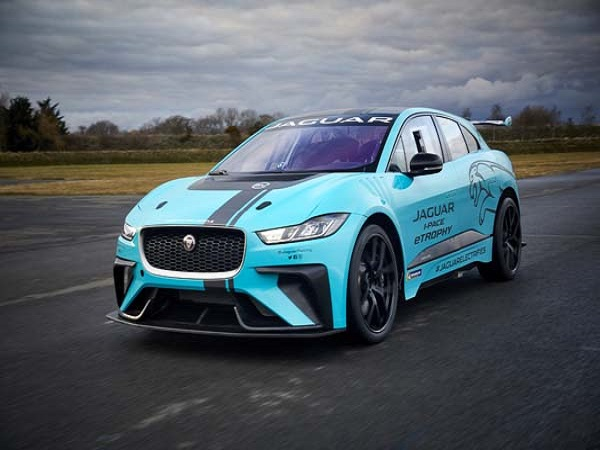 Jaguar I-PACE eTrophy race car to be debuted at the Berlin E-Prix