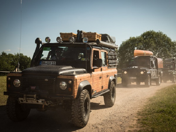 Land Rover stars at Europe's largest off-road exhibition