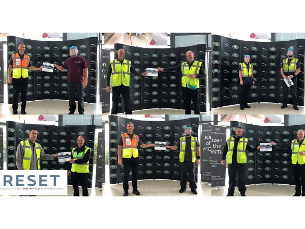 HALEWOOD'S KAIZEN OF THE MONTH — JAN AND FEB RECOGNITION
