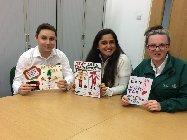 Halewood Christmas Card Competition