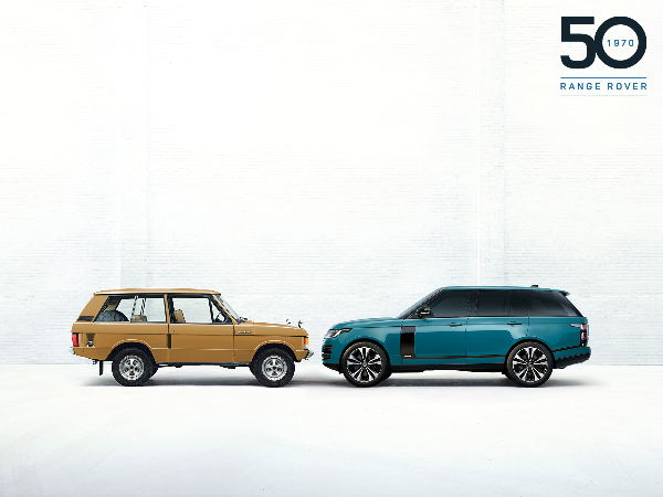 Celebrating 50 Years of Range Rover
