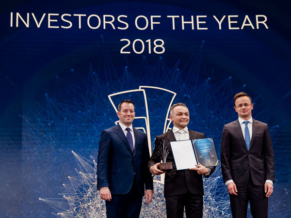 Jaguar Land Rover named Investor of the Year in Hungary