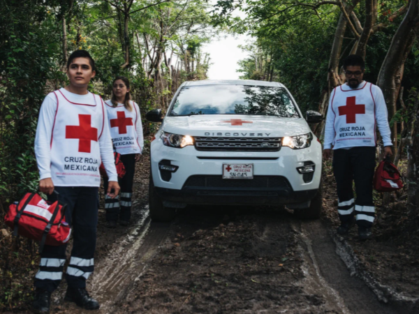 LAND ROVER SUPPORTING AFGANISTAN AND HAITI: DISASTER FUND APPEAL