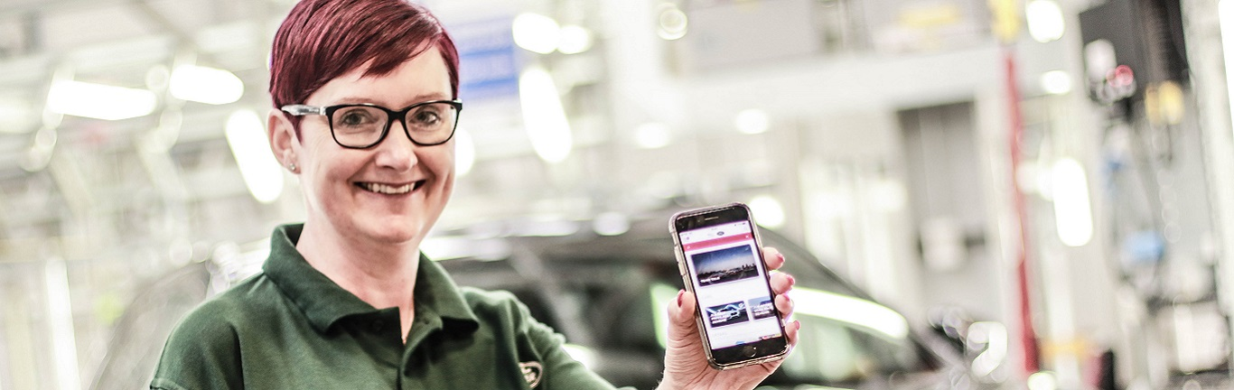 HAVE YOU DOWNLOADED THE AWARD WINNING 'YOUR JLR' APP?