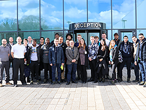Institute of Advanced Manufacturing and Engineering students visit the EMC