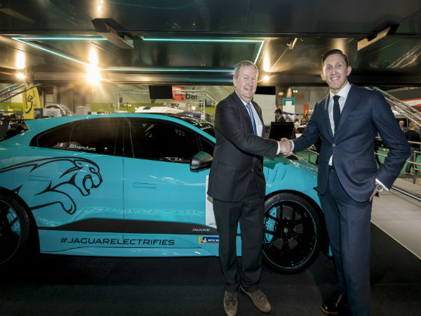 Jaguar Racing announce Michelin as Jaguar I-PACE eTROPHY partner