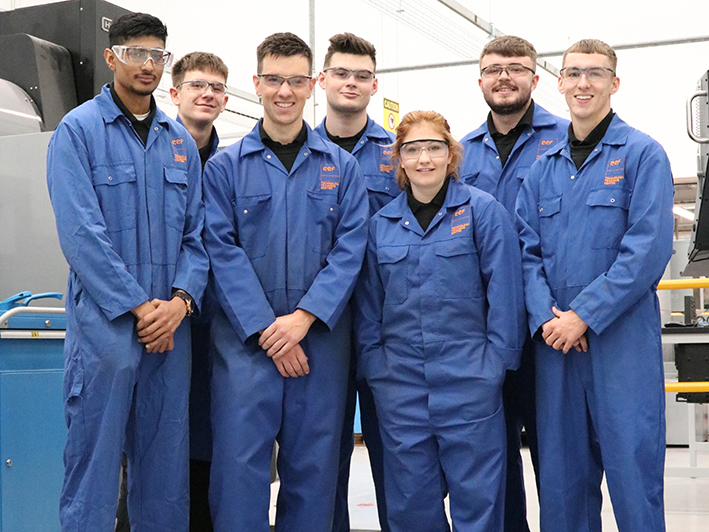 EMC welcomes its latest apprentices