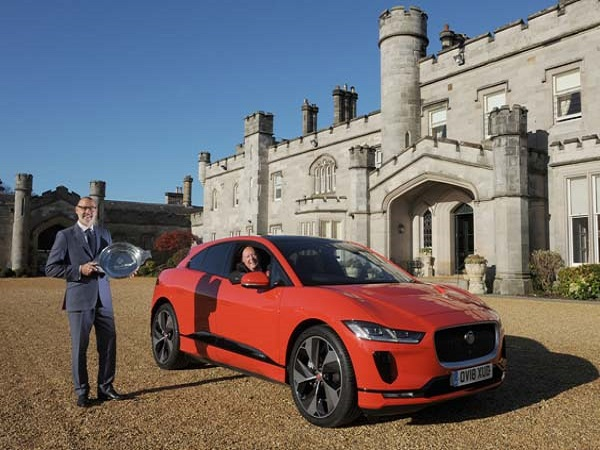 Jaguar I-PACE named 2018 Scottish Car of the Year