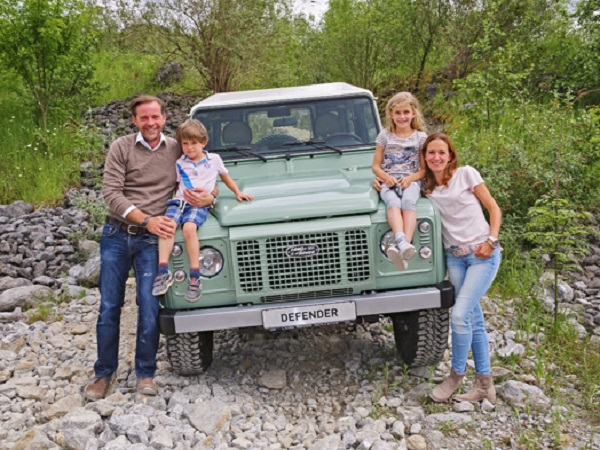 Germany's final Land Rover Defender goes under the hammer for charity