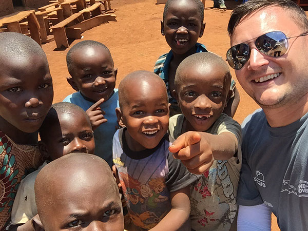 World Water Day - Castle Bromwich's Nick Connoll on his African LifeStraw Adventure