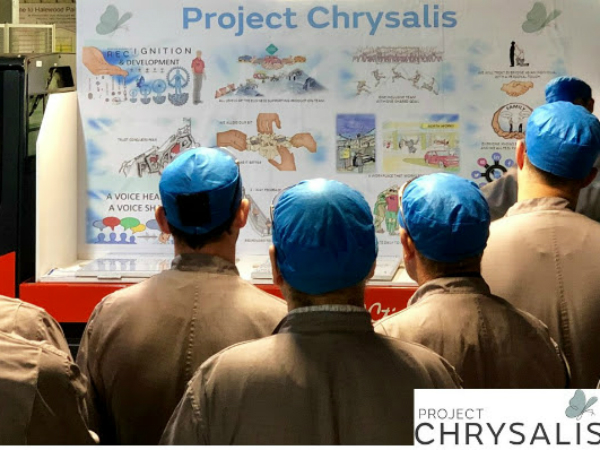 PROJECT CHRYSALIS: FLUTTERING FLOAT