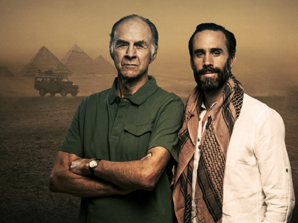 Land Rover helps Sir Ranulph Fiennes re-trace his tyre tracks across the Nile