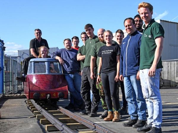 Electrical Engineering volunteers take a trip down memory lane