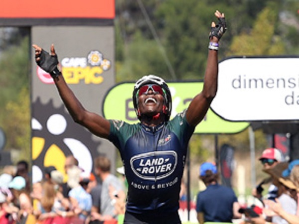 Team Land Rover conquers epic South African mountain bike race