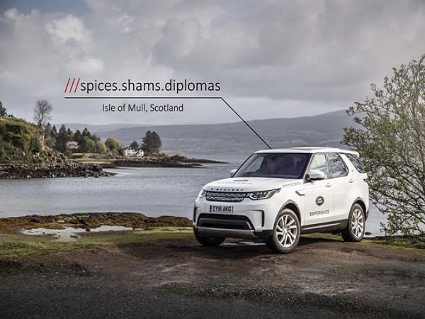Land Rover is saving peoples' lives three words at a time