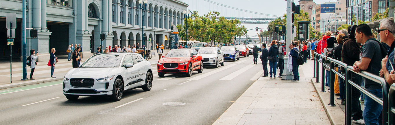 Jaguar electrifies North America with I-PACE experience tour