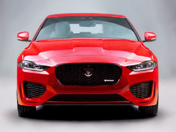 New Jaguar XE revealed to the world in real-life and in art form