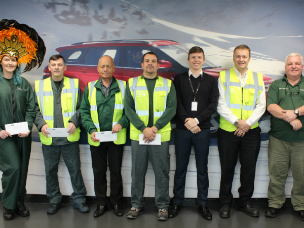 We've supported some great causes with our Motorvate cheques!