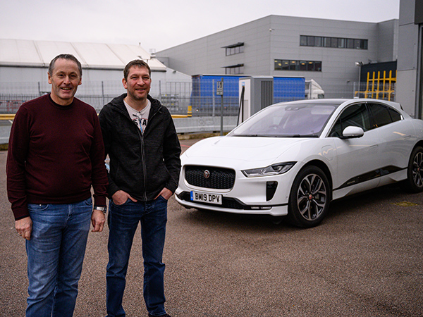 CASTLE BROM COLLEAGUES GIVE AN ELECTRIC ACCOUNT OF THEIR JAGUAR I-PACE EXPERIENCE