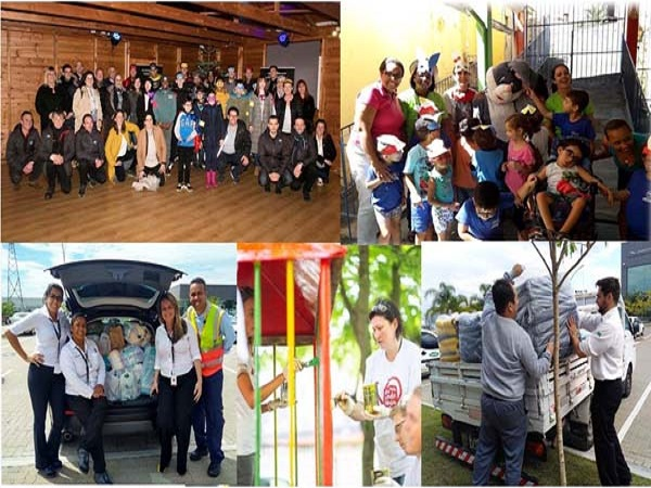 International colleagues give back to their local charities and communities