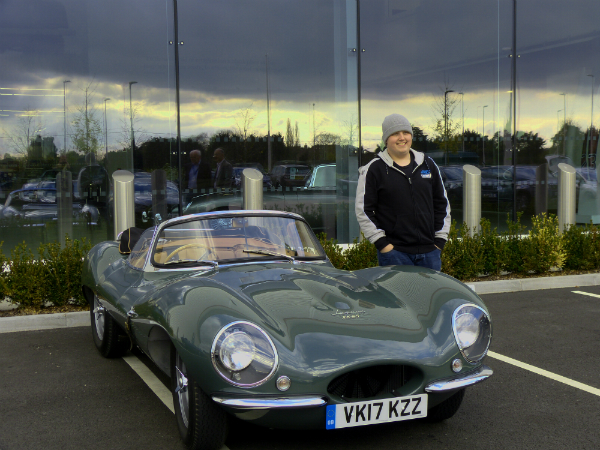 Cars against Cancer: JLR Classic Works  Helps  Man on a Motoring Mission