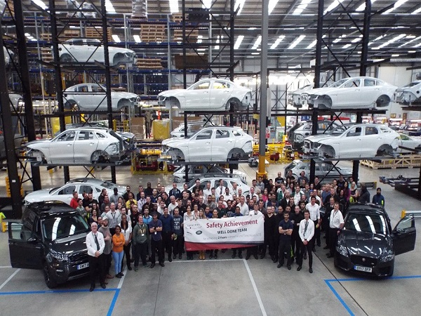 Jaguar Land Rover Global Packshop Celebrates its second Year in Operation