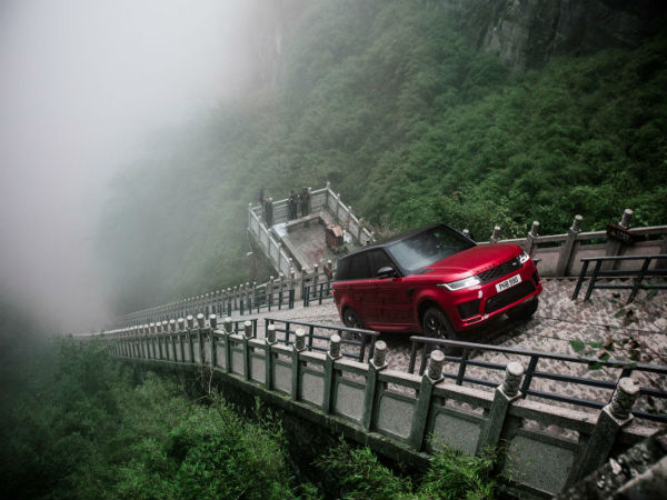 Range Rover Sport PHEV takes on the dragon and earns its passage to Heaven's Gate